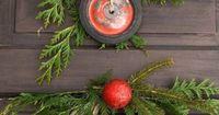 How to create your own upcycled wreath I think it's safe to say, most have a Christmas wreath of sorts every holiday season. They are fabulous for hanging on a