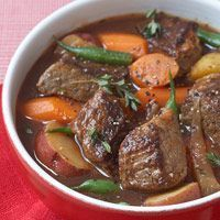 Chunky Beef Stew - 240 calories per serving