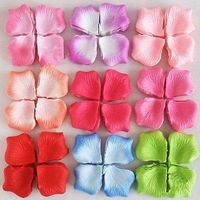 CLEARANCE Pack of 100 Artificial Silk Rose Petals. Different Colours. Wedding Throwing Confetti. £5.99