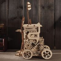 3D Wooden Puzzle, Catapult Model, Assembly Model,Building Craft Kit $76.70