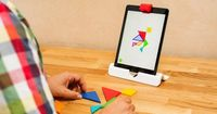 Clever augmented-reality tricks turn drawings or puzzle pieces into games on your iPad's screen. We tried it out for ourselves.