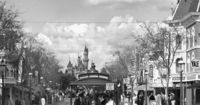 Main Street USA 1962 The Main Street Opera House is the oldest building in the Park. It served as the Park's lumber mill until 1961. The cannons in the center of Town Square were built by in Paris, France for the 19th century French Army. The gas lamp...