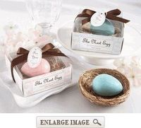 """The Nest Egg"" Scented Soap Favor"