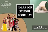 Ideas For School Book Day.   Get School Book Day costumes for your kids at a discount and the highest quality from our trusted Online Wholesale Store.  http://wholesaleconnections-uk.blogspot.com/2018/06/ideas-for-school-book-day.html