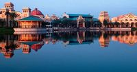 "Disney's Coronado Springs Resort is a Southwest-themed Disney Moderate Resort hotel encircling Lago Dorado�€""a glimmering 22-acre lake�€""that evokes the spirit and romance of Spanish-colonial Mexico. Follow in the footsteps of ex..."