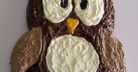 Owl Cake- How To Cut It Out