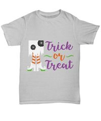 Witchy trick or treat halloween dark unisex t-shirt $16.95