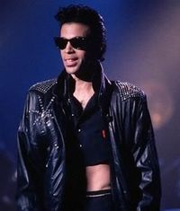 Prince's half shirt from 1986