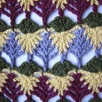 Interesting stitch nice Video tuto :-) love the way people explain crochet in Russian :-)