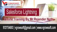 Salesforce Lightning is a new way to Build the Apps, Salesforce Live Online Training on Lightning design systems to bring additional analytics and for CRM needs.