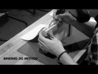 How to Perfect Bind - An instructional video created for digital editing class at Rocky Mountain College of Art and Design, in this video there is instruction on how to perfect bi...