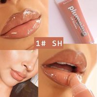 �Ÿ˜�Wet Cherry Gloss Plumping Lip gloss Lip Plumper Makeup Big Lip Gloss Moisturizer Plump Volume Shiny Vitamin E Mineral Oil�Ÿ˜� $7.45
