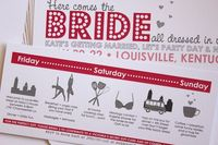 Printable Bachelorette Party Invitations, Girls Night Out Party, Lingerie Party, DIY, Skyline, Bridal Shower, Lingerie Shower. $24.00, via Etsy.