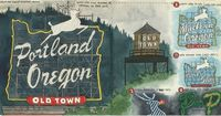 My favorite thing (of all favorite things) in Portland, Oregon: the White Stag sign, in all its incarnations over the years. Long may he reign(deer).