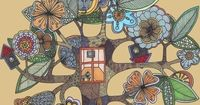 """""""A Room of Ones Own"""" by Swallowfield.... #tree"""