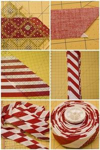 candy cane binding... swoon!.