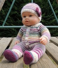 Ensemble pour Aurore (7 pieces), Drops yarn