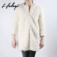 Vogue Simple 9/10 Sleeves One Color Fall Comfortable Casual Coat - Bonny YZOZO Boutique Store