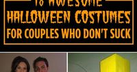 Awesome Halloween costumes for couples who don't suck