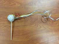 Comet on a Stick. A simple toy that's easy to make