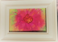 Flower Painting with Alcohol Ink $27.00