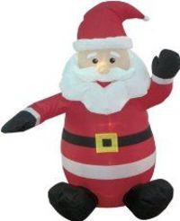 Brighten Up Your Yard With Santa Blow Ups
