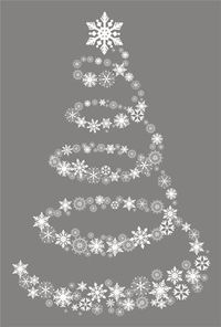 Could this be done large-scale with wire and paper snowflakes glittered/spray painted?