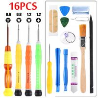 16Pcs Repair Screwdriver Toolkit Cell Phone Repair Tool kit Repairing Disassemble Tool
