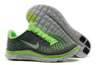 Womens Nike Free 3.0 V4 Dark GreyGreen Running Shoe