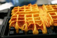 smitten kitchen's pumpkin waffles