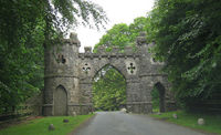 Tollymore Forest Park - gatehouse