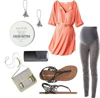 """""""Spring Shopping Day"""" One day when I'm preggo I still want to be cute."""