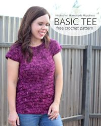 Basic Tee Crochet Pattern