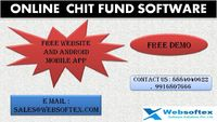 . websoftex software solution private limited a company from bangalore ,our company software is combined with chit fund software with maximum level of protection ,chit fund is basically started as the savings scheme , the intentions of the chit fund is ba...