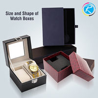 Sizes and Shapes of Watch Boxes . 