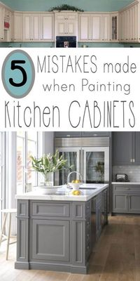 I've had a few inquiries from followers of my site asking for tips on painting kitchen cabinets. A new coat�€� Read more »