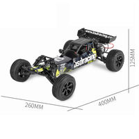 BSD Racing CR-709T 1/10 2.4G 2WD Brushed Rc Car EP Off-Road Baja Truck RTR Toy Random Color