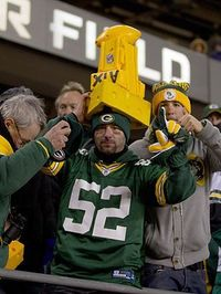 The Green Bay Packers and the Chicago Bears have a long rivalry. When the Bears won the 1985 Superbowl, Chicago fans began to taunt their northern neighbors wit