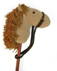 Crochet hobby horse pattern - free pattern but must sign up for free membership to view