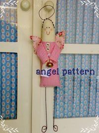 Christmas angel - free pattern & instructions