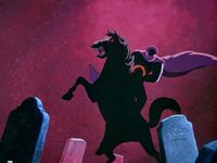 The Legend of Sleepy Hollow is actually kind of a love triangle but also scary.