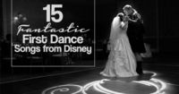 15 Fantastic First Dance Songs from Disney