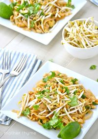 Beauty in Balance: One cup of stir-fried bean sprouts is a good source of the B vitamins riboflavin, pantothenic acid, vitamin B-6, thiamin and niacin. It is also high in vitamin C. Vegetable Pad Thai