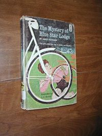 The Mystery of Blue Star Lodge by Adele Fletcher (1965) for sale at Wenzel Thrifty Nickel ecrater store