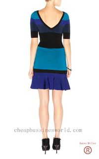 Karen Millen Frill Skirt Bandage Knit Km158 High Quality