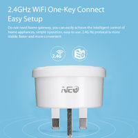 NEO COOLCAM WiFi Smart UK Power Plug Socket Wireless Outlet Timer Switch Appliance Home