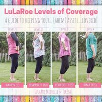 LuLaRoe Levels of Coverage! A Guide to keeping your.. ahem.. assets.. covered�€�