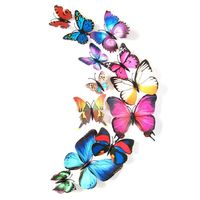 Super Deal 2015 3d wall stickers home decor wall decals 3d butterfly wall stickers for kids rooms wall art HYM02 $2.60