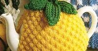 Pineapple Tea Cosy Vintage knitting pattern Pdf $4.50 on Etsy at http://www.etsy.com/listing/76314142/pineapple-tea-cosy-vintage-knitting