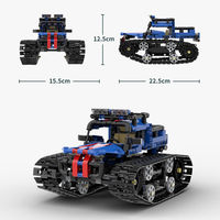 iHoneycomb DIY Smart RC Robot Truck Car Programmable Block Building APP Control Robot Toy Compatible LEGO
